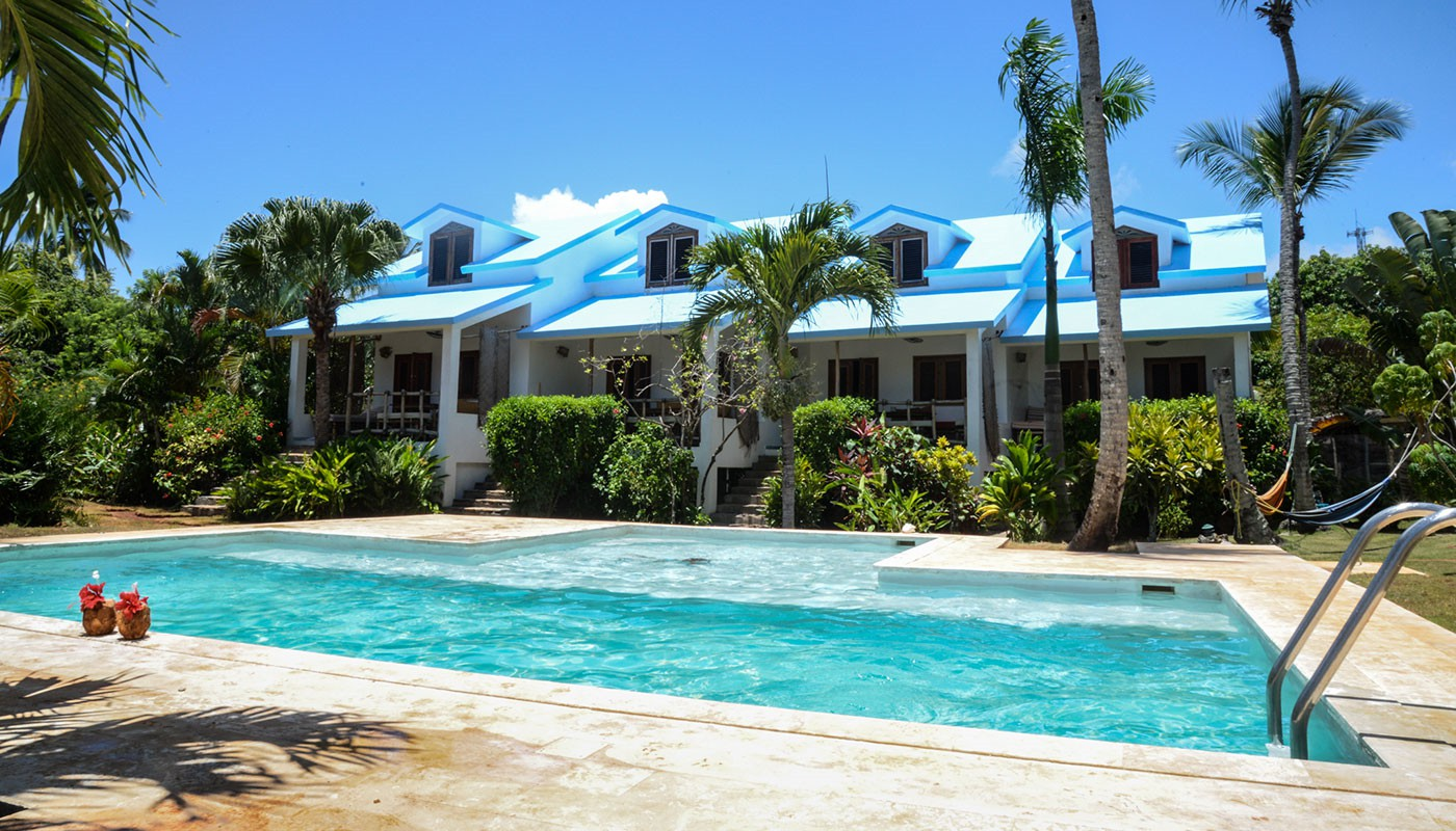 Where to Stay in Las Galeras : La Isleta Apartment Hotel.