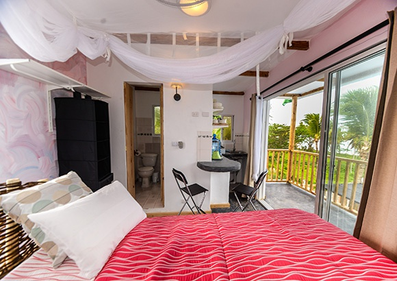 Oceanfront Apartments for Rent in Las Galeras Dominican Republic.